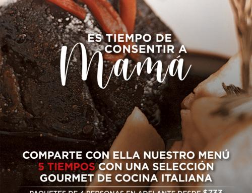 ¡TIEMPO DE CONSENTIR A MAMÁ!