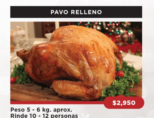 PAQUETE DE NAVIDAD PAVO RELLENO